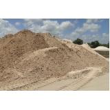 carrada de areia lavada para construção