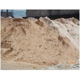 carrada de areia para alicerce