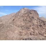 carradas de areia fina para construtoras Fazenda Iracema
