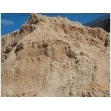 carradas de areia grossas no Núcleo Residencial Princesa D'Oeste