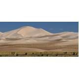 carradas de areia para alicerces no Bosque de Barão