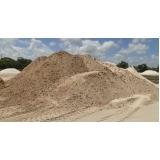 carradas de areia para concretos Chácara Monterrey