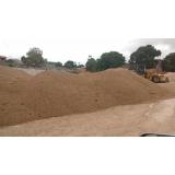 carradas de areia para construtoras Chácara Santa Margarida