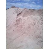 comprar carrada de areia de brita Santa Cecília