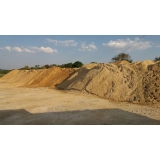 comprar carrada de areia grossa para construtora em Pedreira