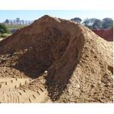 comprar carrada de areia lavada para construção no Novo Horizonte
