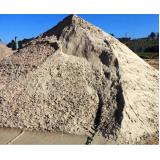 onde encontrar areia média fina no Parque Valença I
