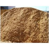 onde encontrar areia média grossa em São Domingos