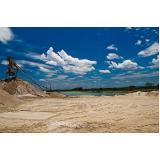 onde encontrar depósito areia e pedra na Fazenda Conceição