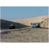 onde encontrar fornecedor de areia e pedra no Retiro