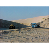 onde encontrar fornecedor de areia fina no Parque Peruche