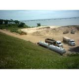 onde encontro fornecedor de areia e pedra no Recanto Quarto Centenário