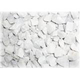 pedra brita branca preço na Vila Ana