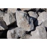pedra brita para construção preço em Mendonça