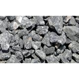 pedra brita para drenagem no Parque Retiro do Carrilho