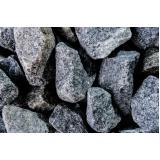 pedra brita para dreno no Parque Família
