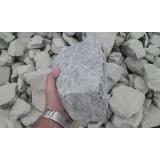 pedra de areia para muros preço em Americana