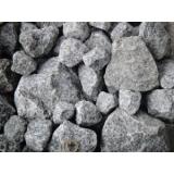pedra drenagem estacionamento Parque Maria Helena