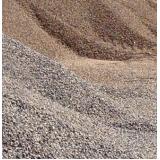 pedra e areia para obras no Horto Florestal