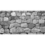 pedra rústica construção Vila Padre Manuel da Nóbrega