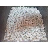 pedras brita branca no Recanto Quarto Centenário