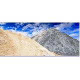 pedras e areia para obras em Mendonça