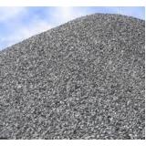 pedra moída para construção