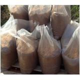 quanto custa areia a granel e ensacada na Malota
