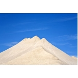 quanto custa areia fina branca na Bela Vista
