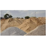 quanto custa areia fina média e grossa no Portal do Paraíso I