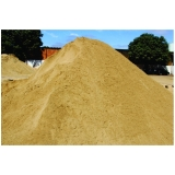 quanto custa areia fina para reboco na Vila Progresso