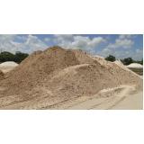 quanto custa areia grossa lavada no Rio Acima