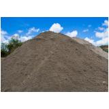 quanto custa areia grossa para obras no Jardim García