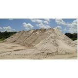 quanto custa areia grossa para reboco no Gramadão