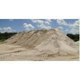 quanto custa carrada de areia de brita Marapoama