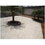 quanto custa pedra brita branca no Jardim Santa Genebra