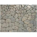 quanto custa pedra para construção de muro no Spiandorello