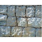 quanto custa pedra para construção de paredes na Fazenda Iracema