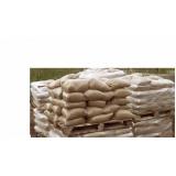 quanto custa saco de areia grossa na Fazenda Iracema
