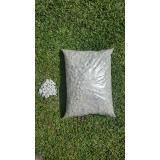 saco de pedra brita no Parque Cidade de Campinas